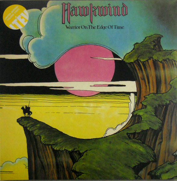 HAWKWIND warrior on the edge of time - col vinyl LP
