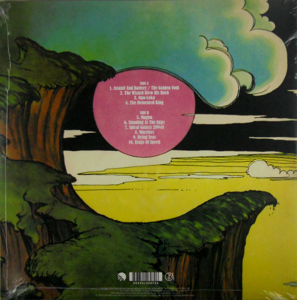 HAWKWIND warrior on the edge of time - col vinyl LP back