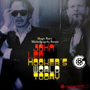 RACE, HUGO & MICHELANGELO RUSSO john lee hooker's world today LP