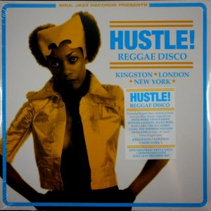 VARIOUS ARTISTS hustle! Reggae disco LP