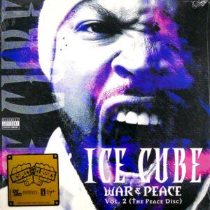 ICE CUBE war & peace vol 2 (the peace disc) LP
