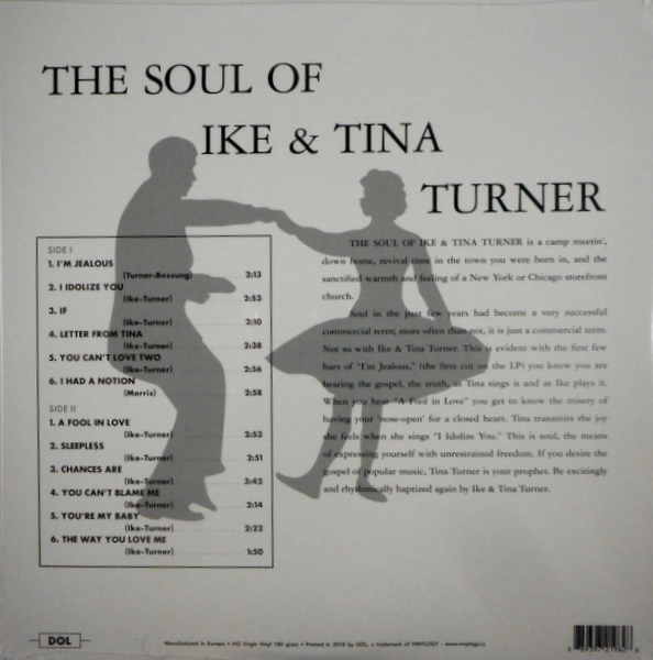 TURNER, IKE & TINA the soul of Ike & Tina LP
