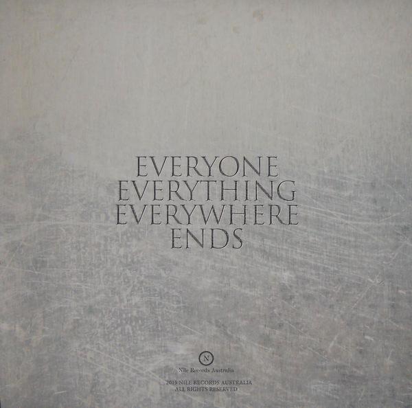 IKON everyone, everything, everywhere, ends LP back