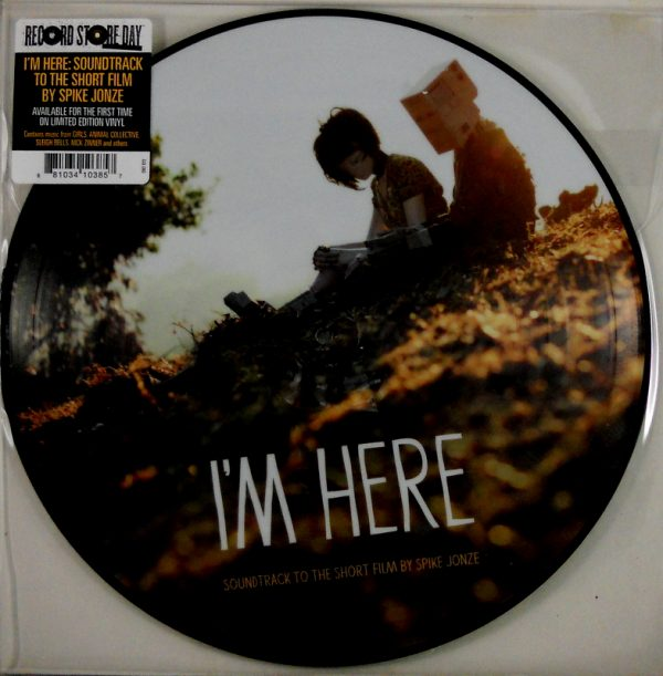 VARIOUS ARTISTS I'm here LP