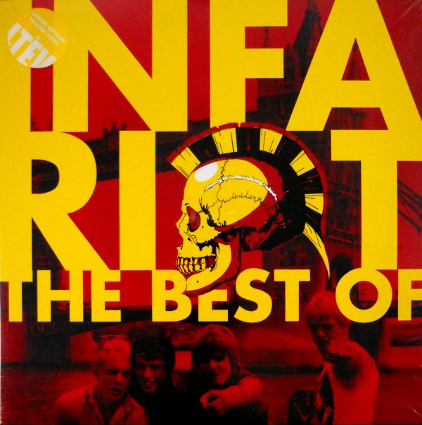 INFA RIOT the best of infa riot LP