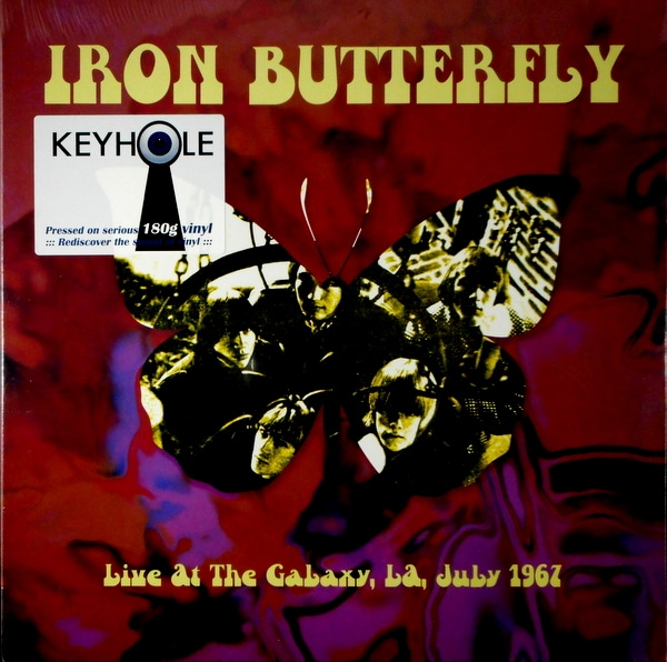 IRON BUTTERFLY live at the galaxy 1967 LP
