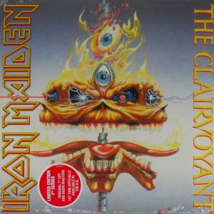 iron maiden clairvoyant usa 7 single