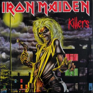 iron maiden killers euro black vinyl lp