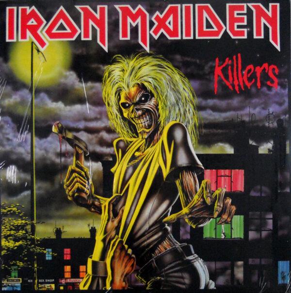 iron maiden killers euro black vinyl lp