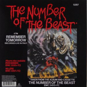 iron maiden number of beast euro 7