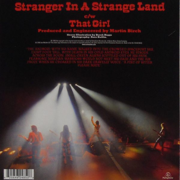 iron maiden stranger uk 7 single