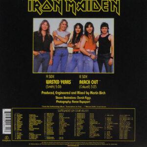 iron maiden wasted years uk 7 single