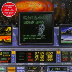 iron maiden wasted years usa 7 single