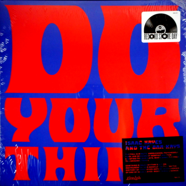 HAYES, ISAAC & THE BAR-KAYS do your thing LP