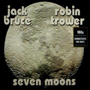 BRUCE, JACK & ROBIN TROWER seven moons LP