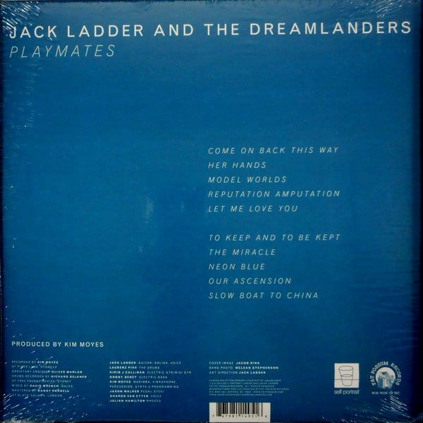 JACK LADDER AND THE DREAMLANDERS playmates LP