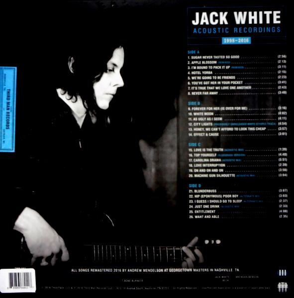 WHITE STRIPES, THE (JACK WHITE) acoustic recordings LP