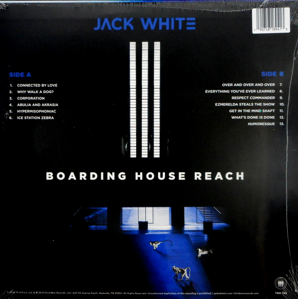 WHITE STRIPES, THE (JACK WHITE) boarding house reach LP