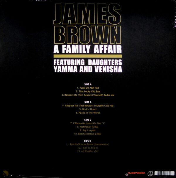 james brown a family affair lp