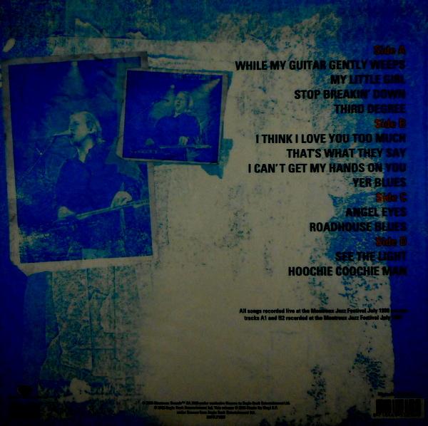 HEALEY BAND, JEFF live in switzerland LP