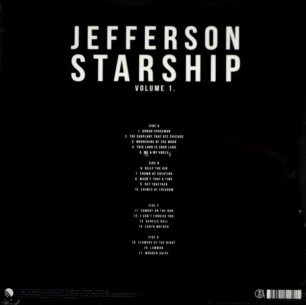 JEFFERSON STARSHIP roswell u.f.o. festival 2009 - vol 1 LP