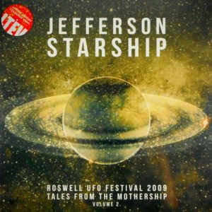 JEFFERSON STARSHIP roswell u.f.o. festival 2009 - vol 2 LP