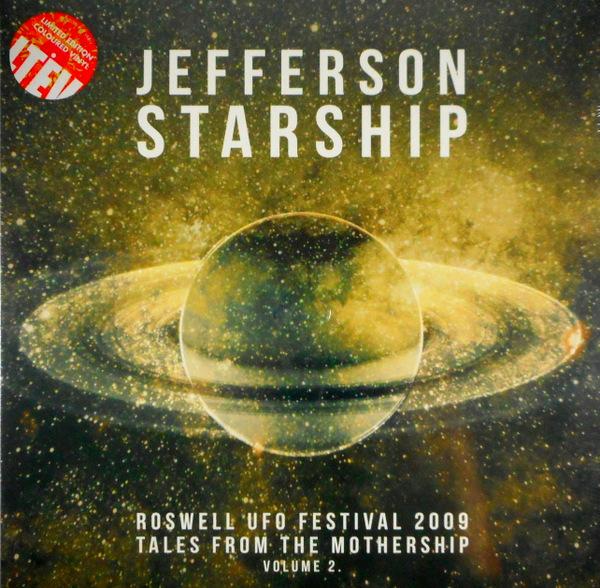 JEFFERSON STARSHIP roswell u.f.o. festival 2009 - vol 2 LP