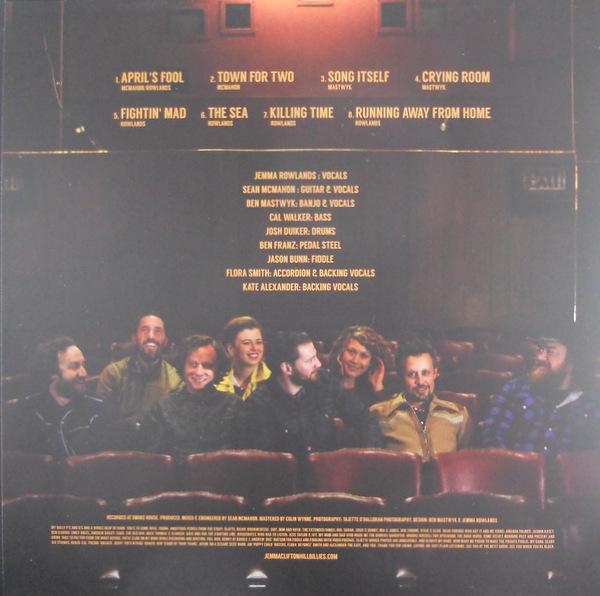 JEMMA & THE CLIFTON HILLBILLIES self titled LP back