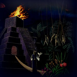 JESS & THE ANCIENT ONES second psychedelic coming - the aquarius tapes LP
