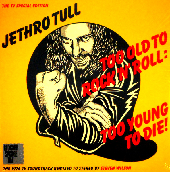 JETHRO TULL too old to rock 'n' roll LP