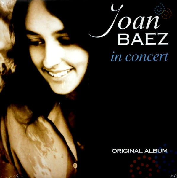 BAEZ, JOAN in concert LP