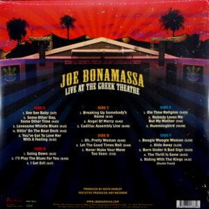 BONAMASSA, JOE live at the greek theatre LP