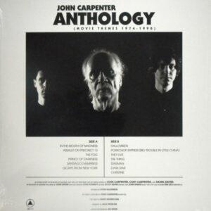 CARPENTER, JOHN anthology - movie themes 1974 - 1998 LP