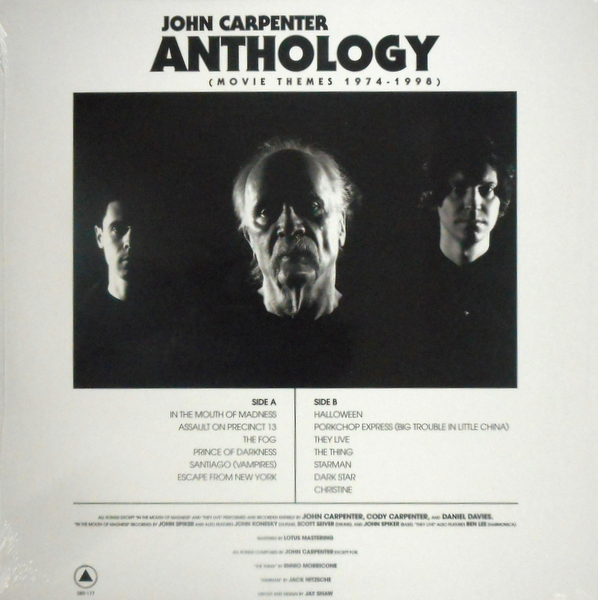 CARPENTER, JOHN anthology - movie themes 1974 - 1998 LP