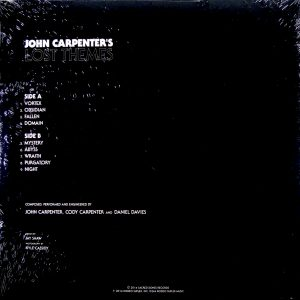 CARPENTER, JOHN lost themes LP
