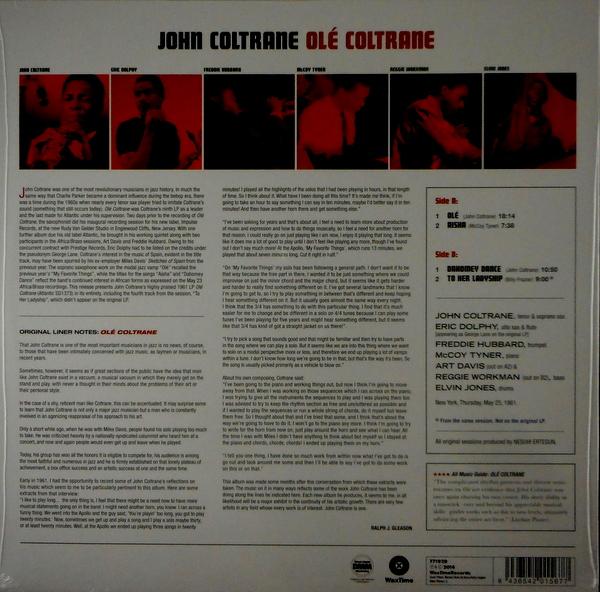 COLTRANE, JOHN ole coltrane LP