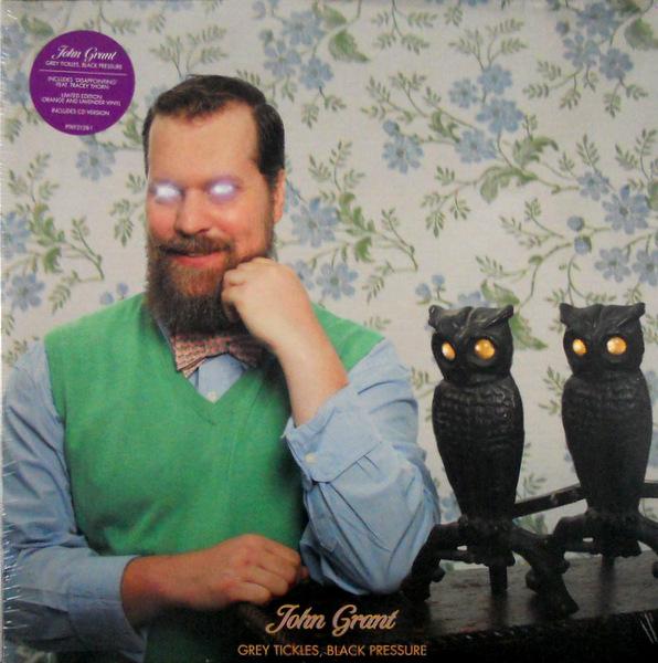 GRANT, JOHN grey tickles, black pressure LP