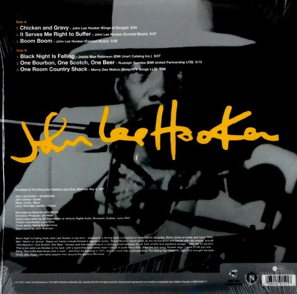 HOOKER, JOHN LEE black night is falling LP