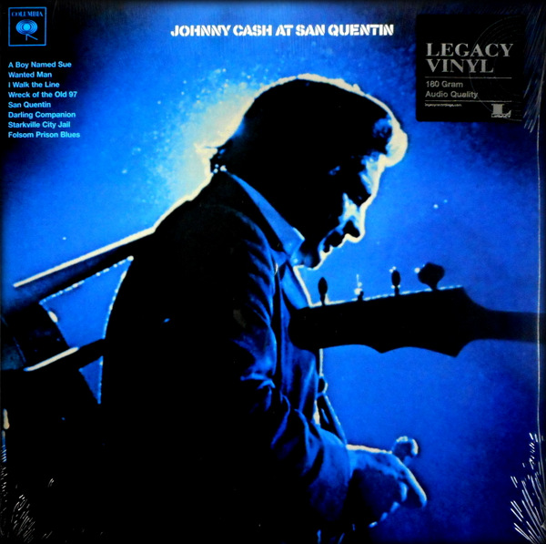 CASH, JOHNNY at san quentin LP