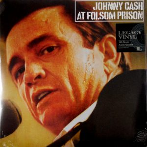 CASH, JOHNNY at folsom prison LP
