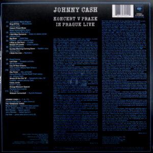 CASH, JOHNNY in prague live LP back