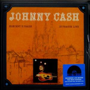 CASH, JOHNNY in prague live LP