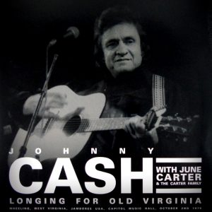 CASH, JOHNNY longing for old virginia LP