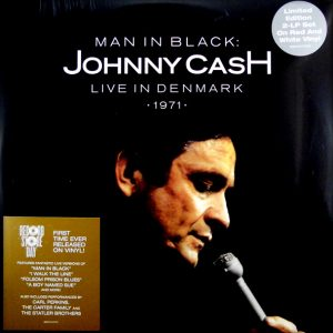 CASH, JOHNNY man in black - live in Denmark LP