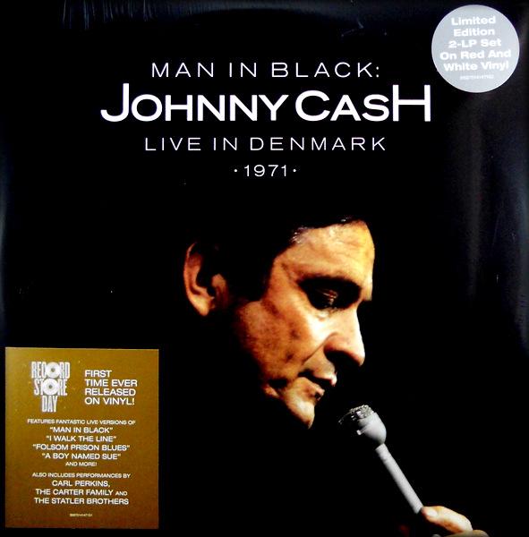CASH, JOHNNY man in black - live in Denmark LP