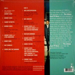 CASH, JOHNNY best of the johnny cash tv show LP