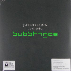 JOY DIVISION substance 1977-1980 LP