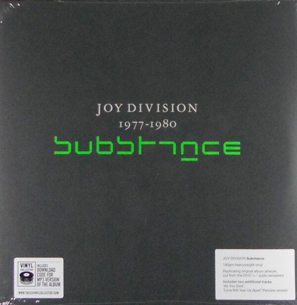 JOY DIVISION substance 1977-1980 LP