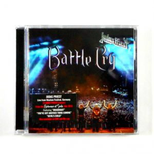 JUDAS PRIEST battle cry CD