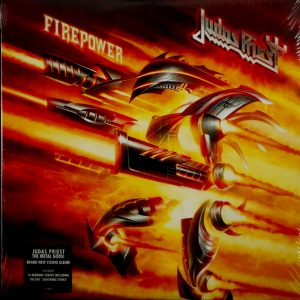 JUDAS PRIEST firepower LP
